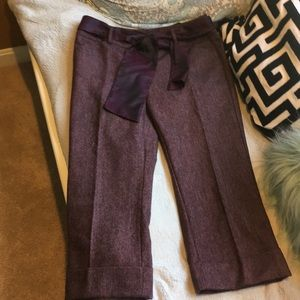 Express ankle length pants